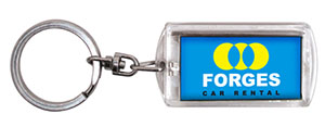 Promotional Product Flashing Keyring - Medium