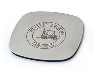 Promotional Product Xenon Solo Coaster