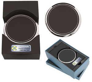 Promotional Product Beverage Coaster Set