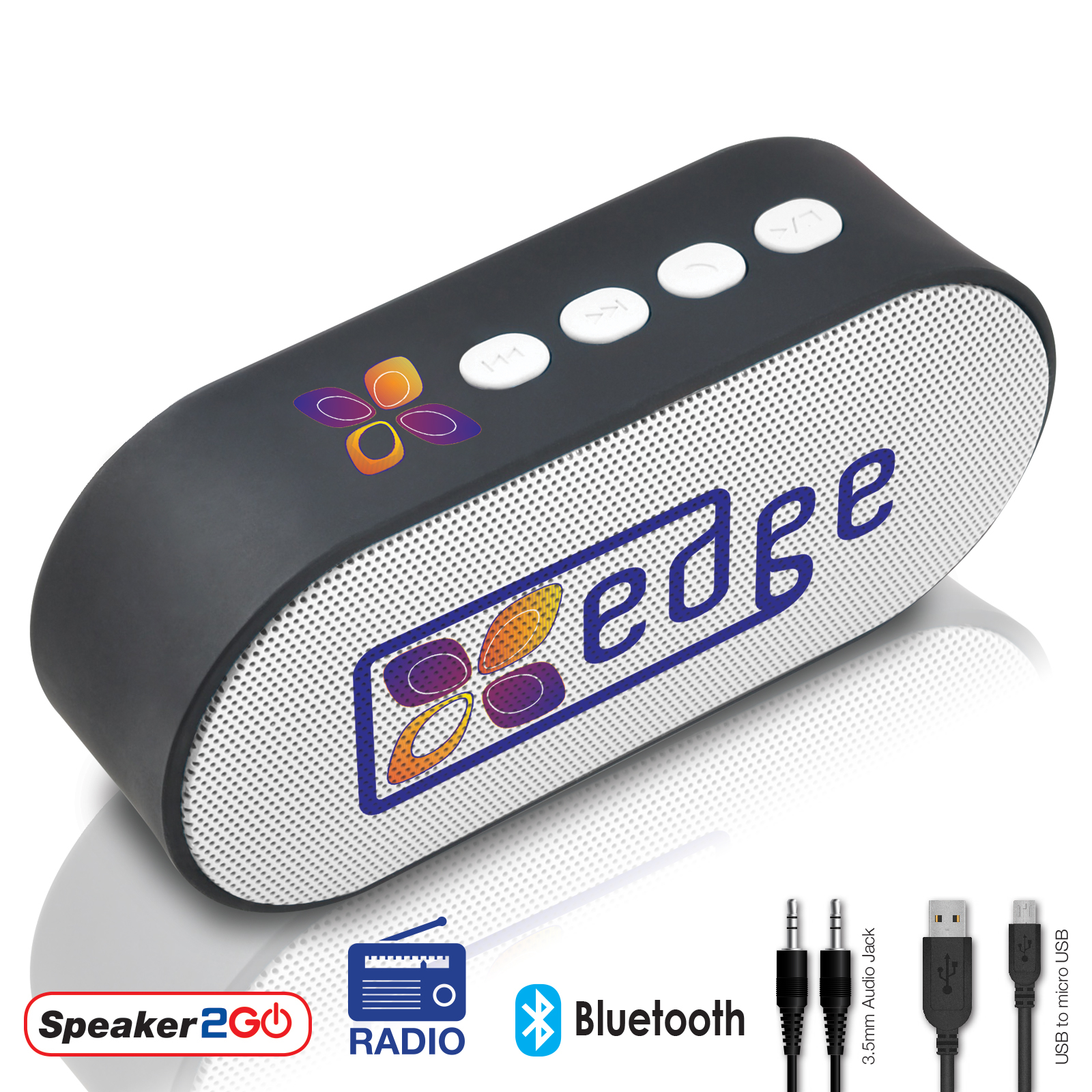 Promotional Product Groove Speaker