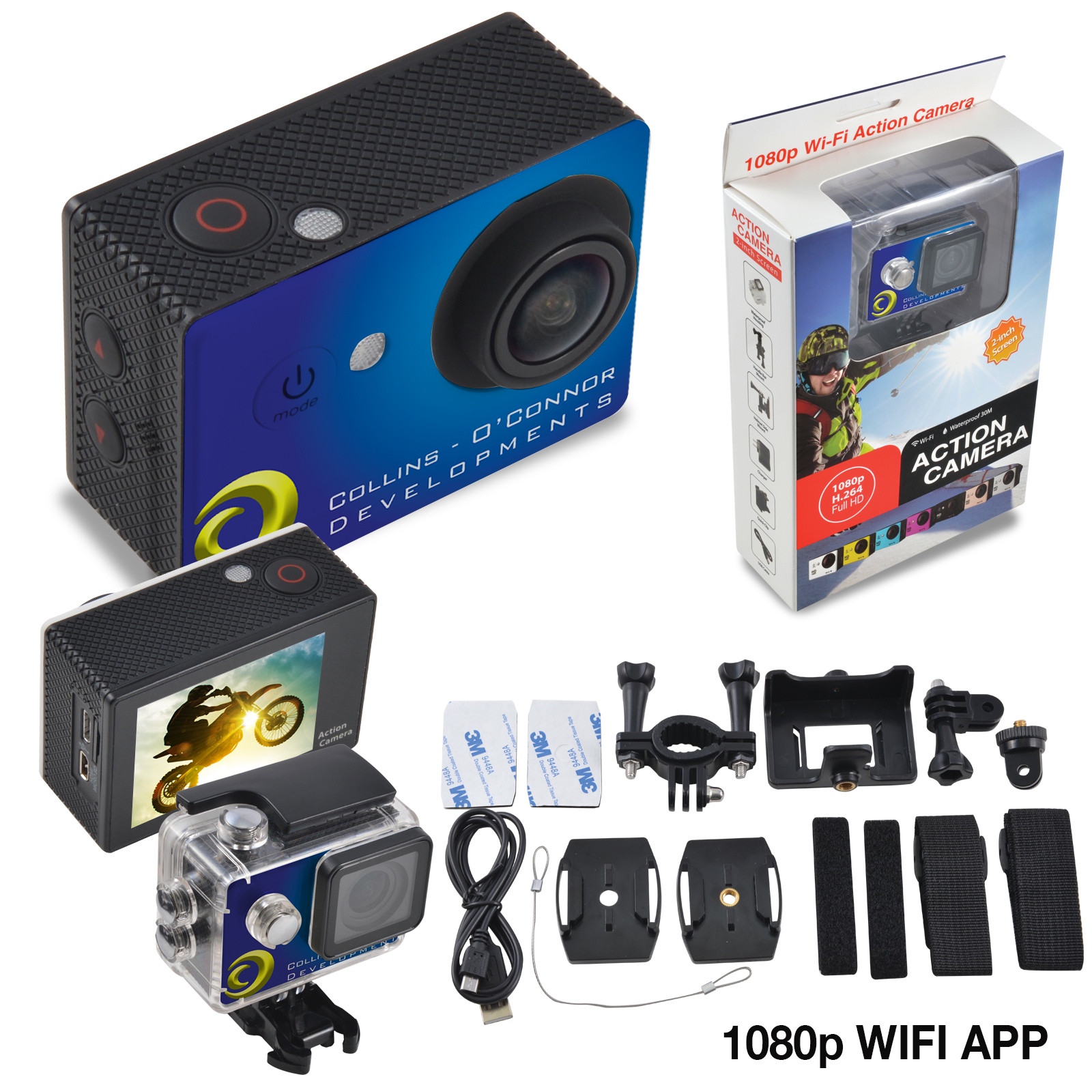 Promotional Product LivNow Action Cam PRO 1080 Full HD