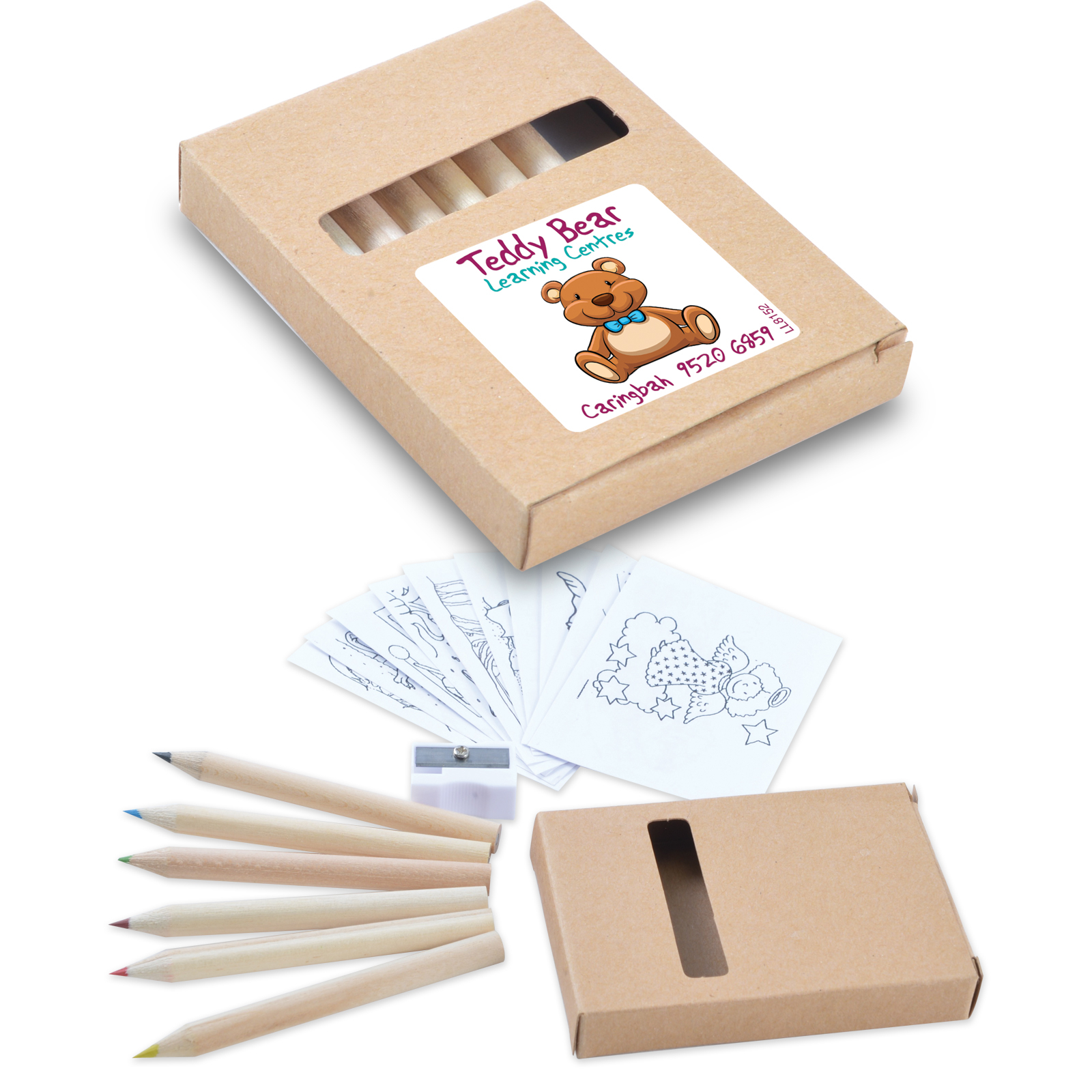 Promotional Product Activity Pencil Set