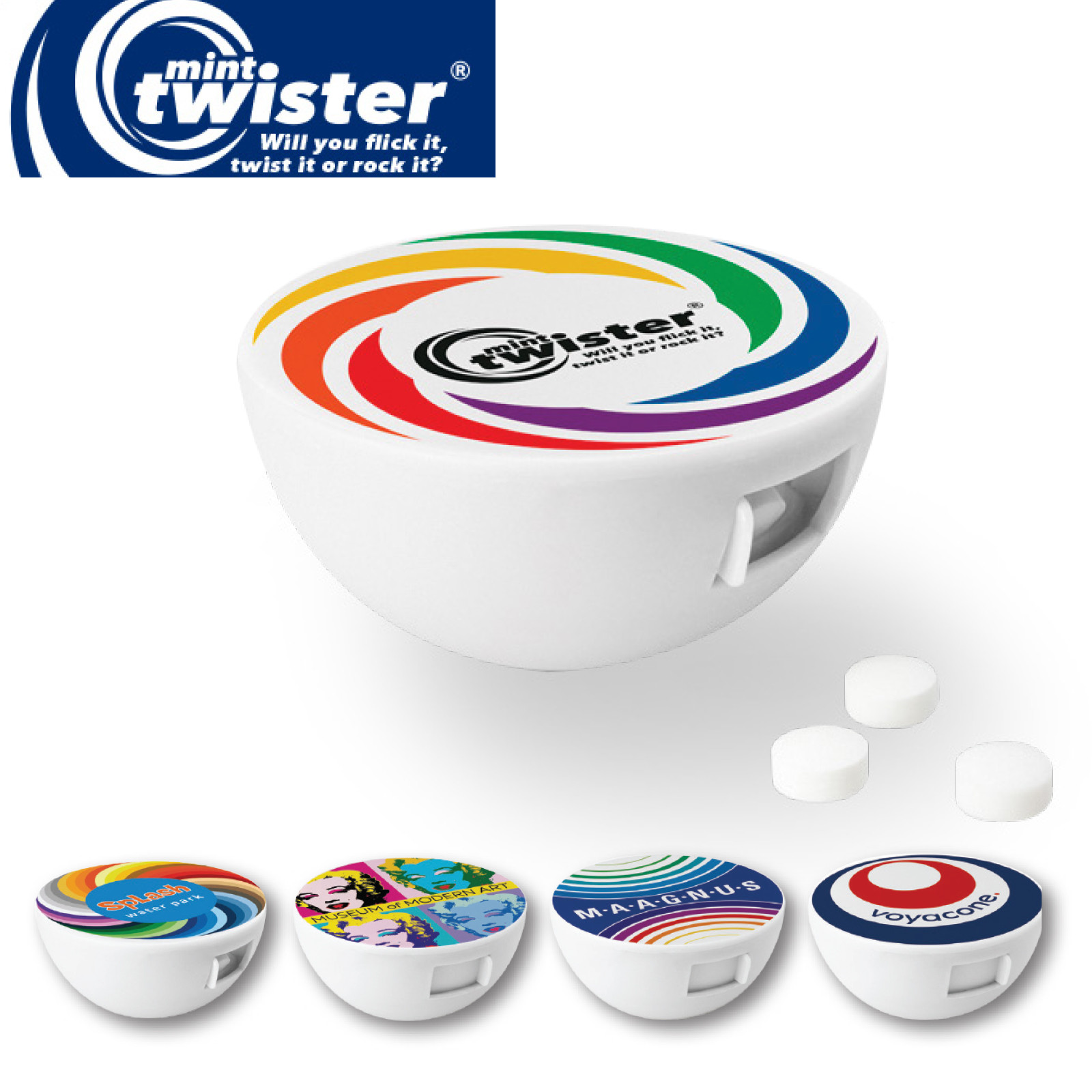 Promotional Product Mint Twister