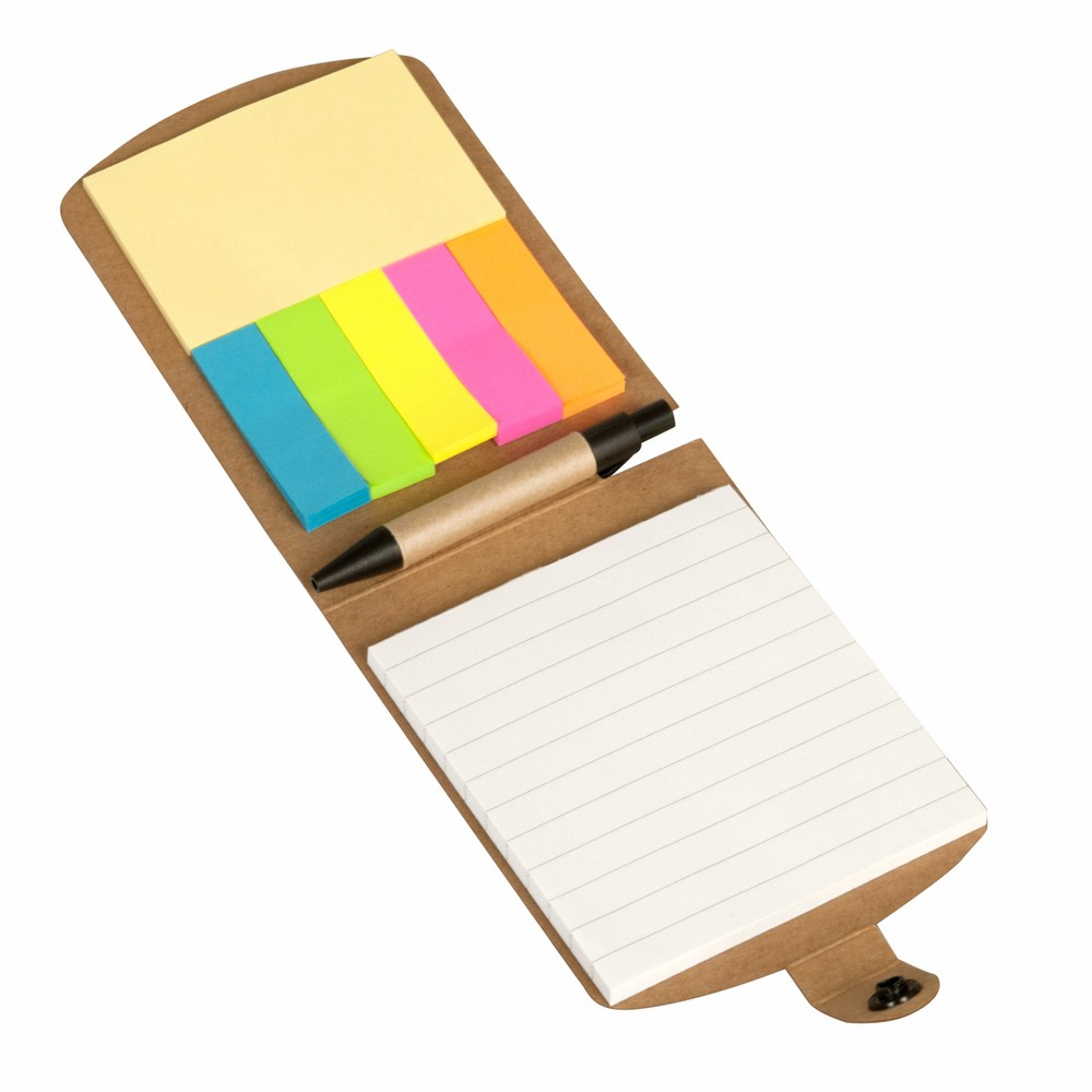 Promotional Product Mini Notebook With Flags and Pen