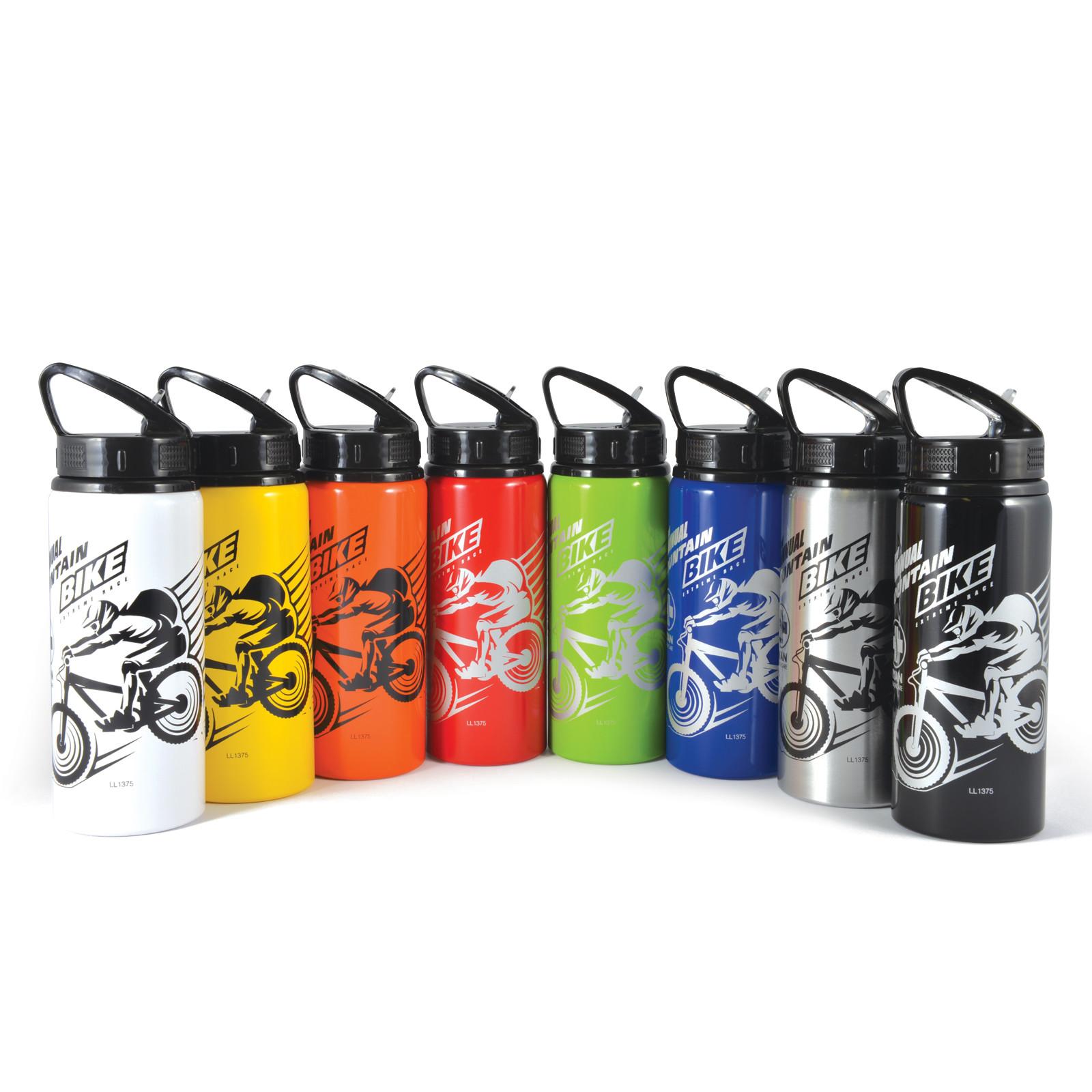 Promotional Product Trek 600ml Aluminium Sports Drink Bottle