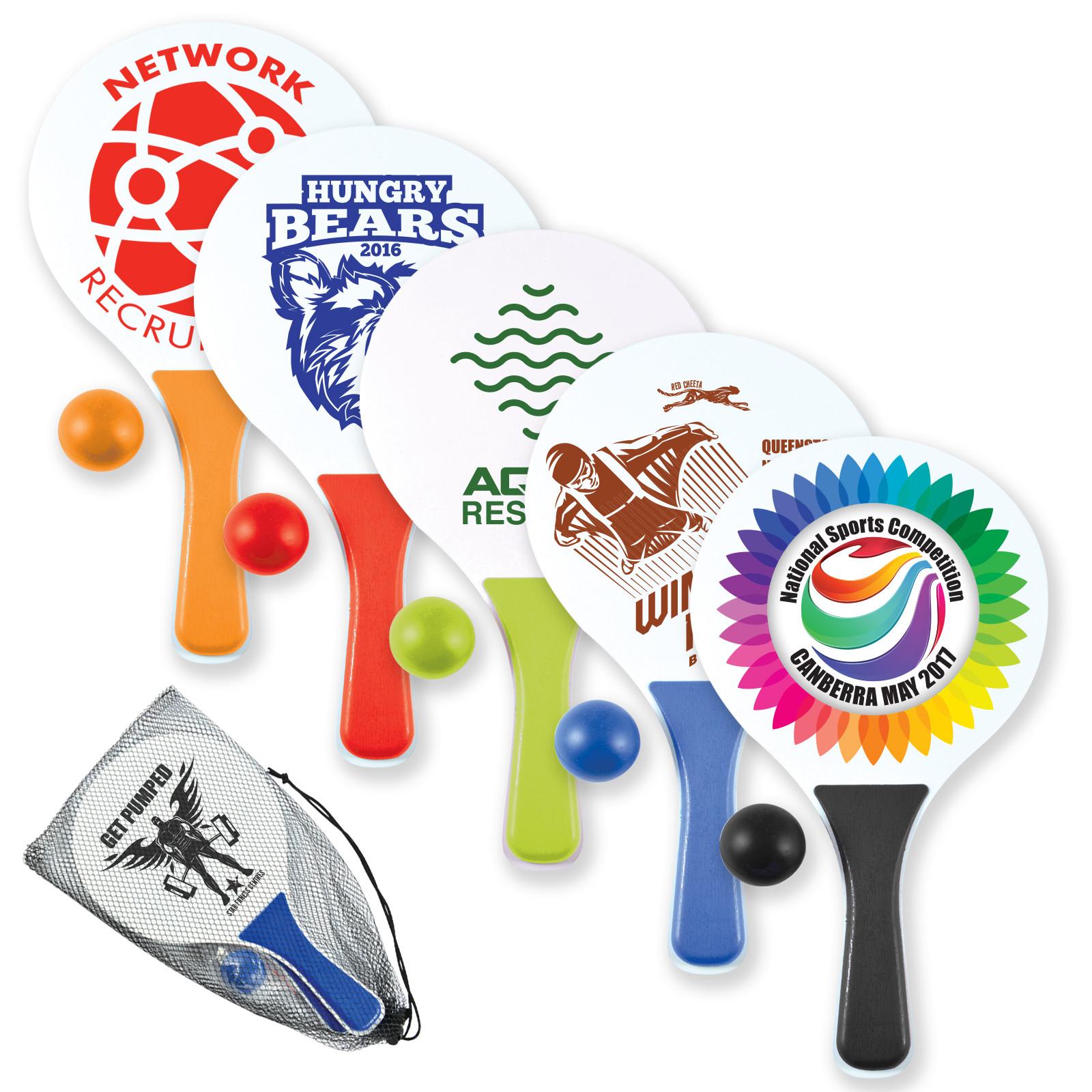 Promotional Product Paddle Ball Set