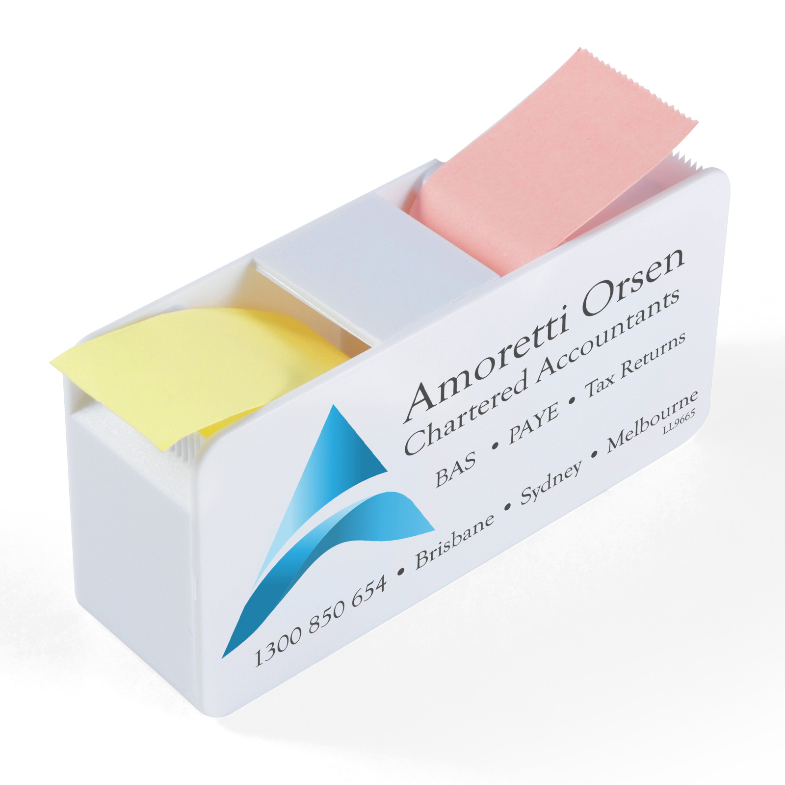 Promotional Product Duo Sticky Note Dispenser