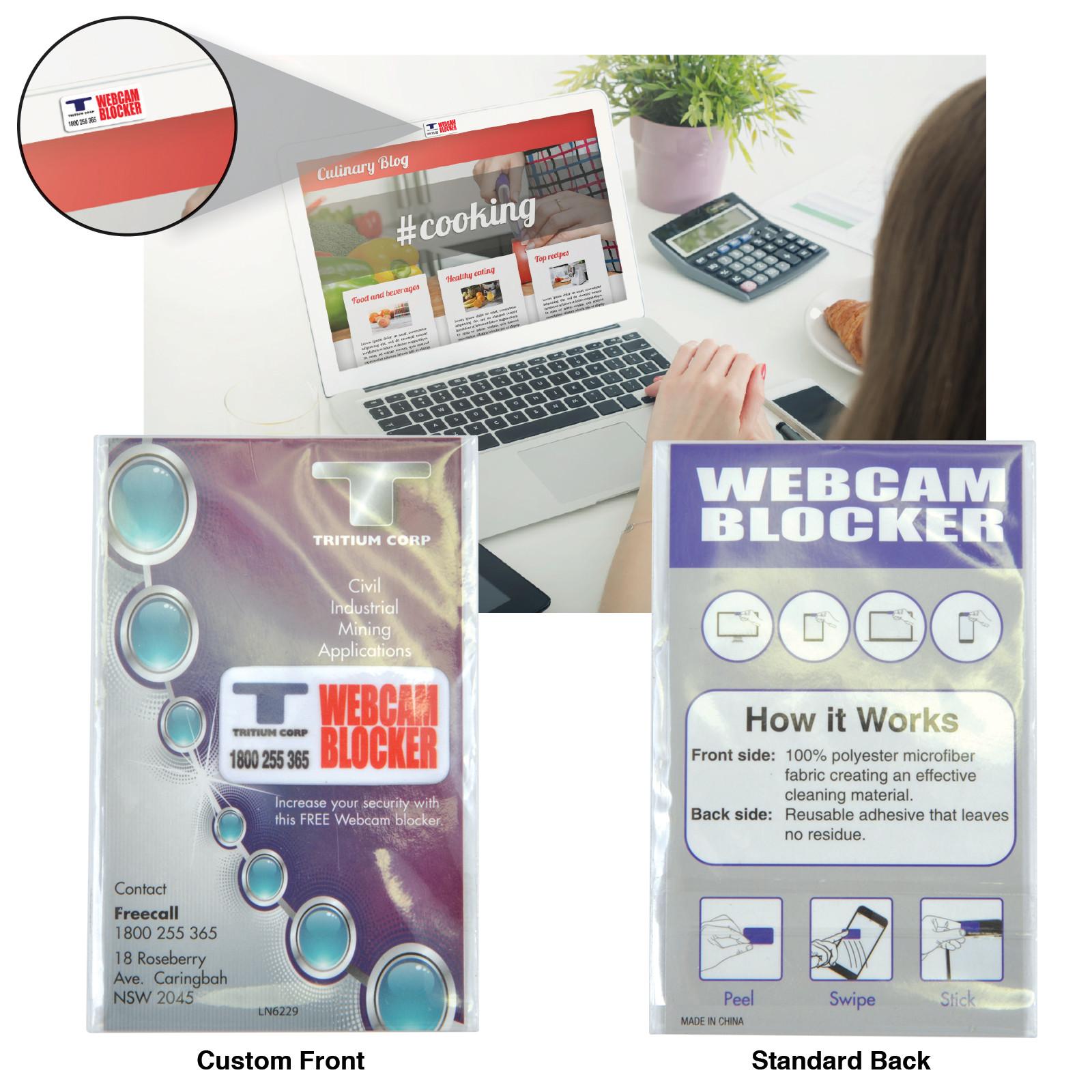 Promotional Product Microfibre Webcam Blocker