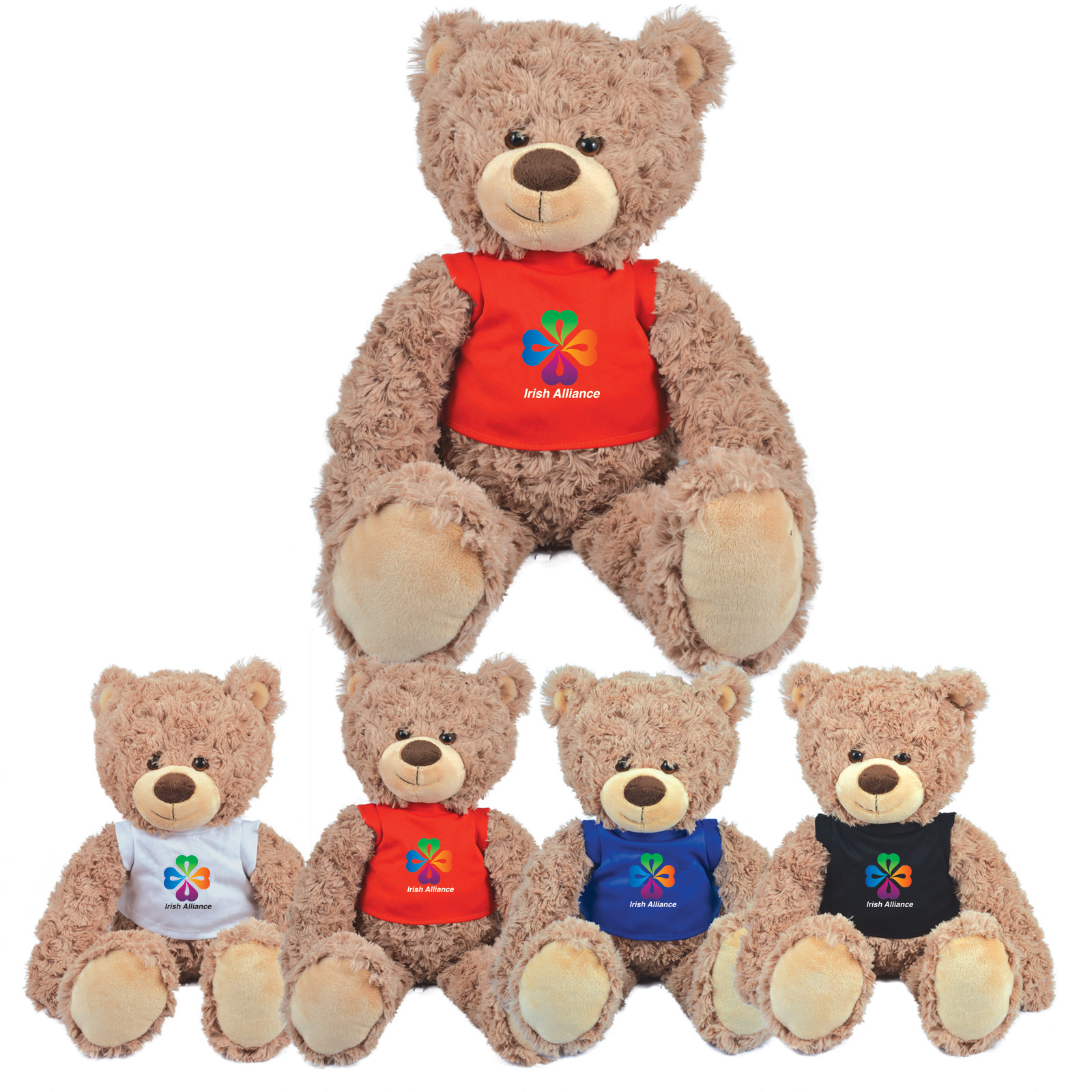 Promotional Product Bailey Plush Bear