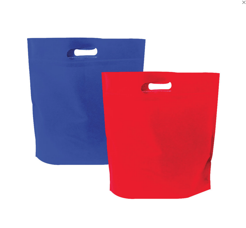 Promotional Product DIE-CUT HANDLE TOTE BAG