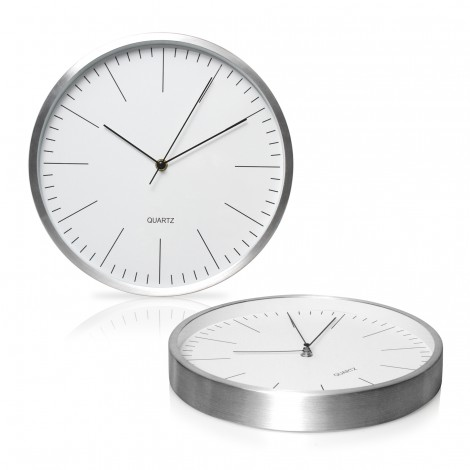 Promotional Product 30cm Aluminium Wall Clock