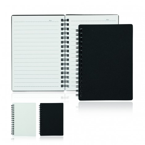 Promotional Product A6 80 Leaf Spiral Bound Notebook