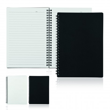 Promotional Product A5 80 Leaf Spiral Bound Notebook