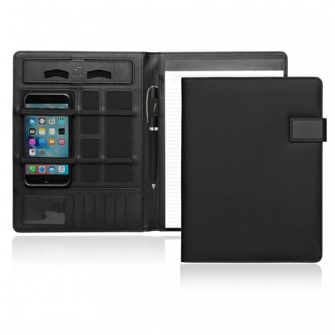Promotional Product A4 Tech Folio w/Magnetic Closure