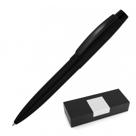 Promotional Product Matte Black Metal Ballpoint Pen