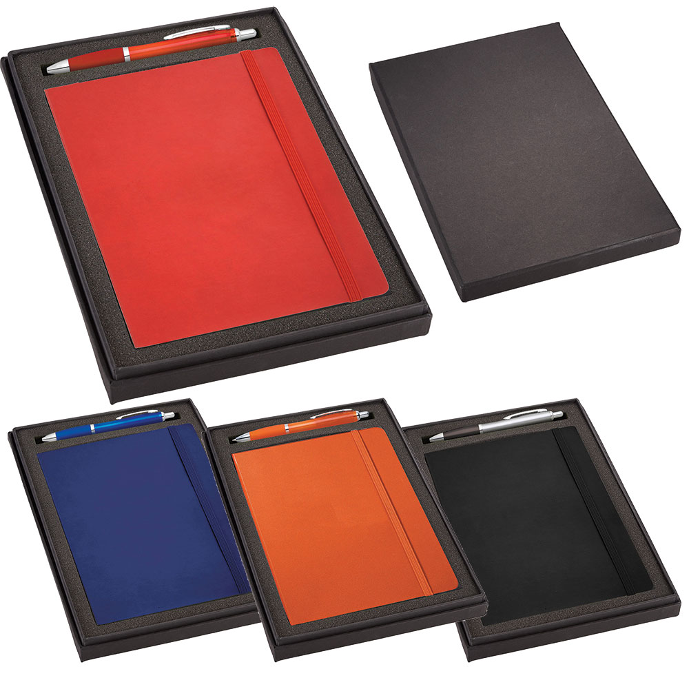 Promotional Product JournalBook Gift Set with Journal &  Nash Pen