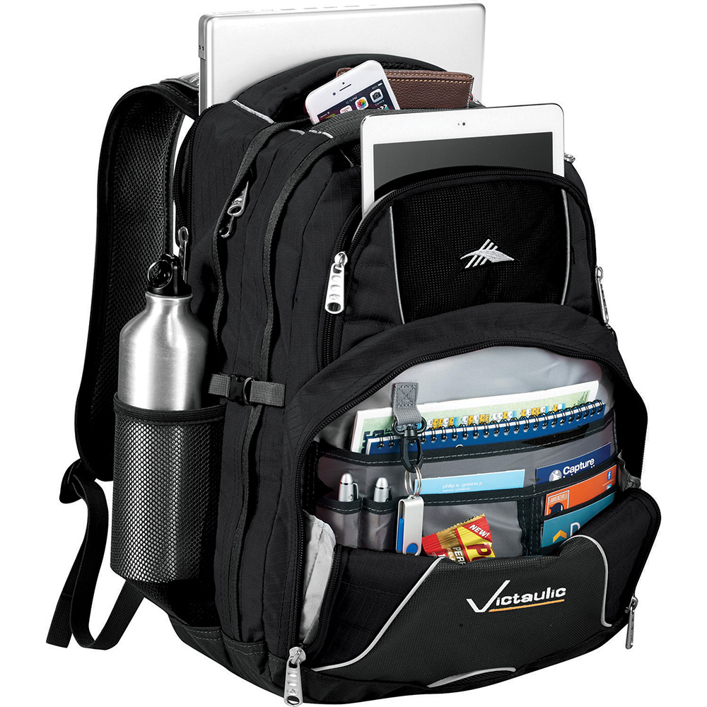 Promotional Product High Sierra Swerve 17 inch Computer Backpack