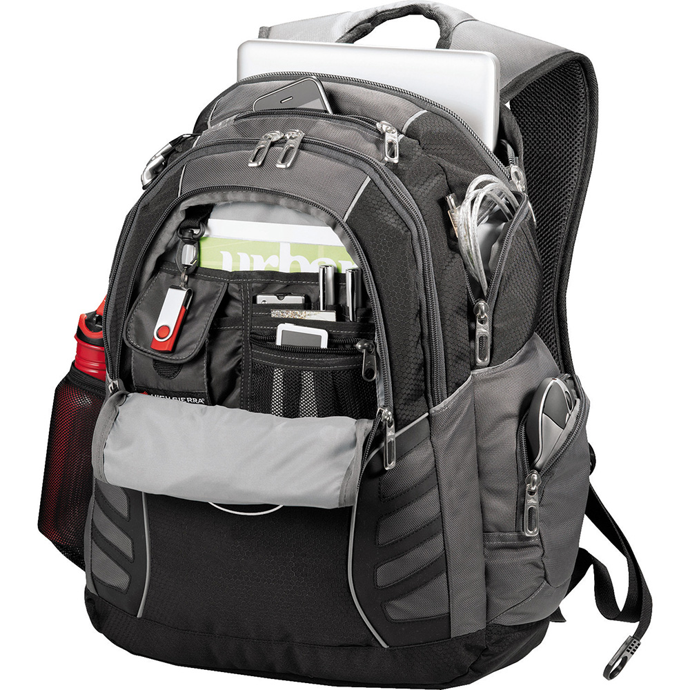 Promotional Product High Sierra Swerve Big Wig 17 in Computer Backpack