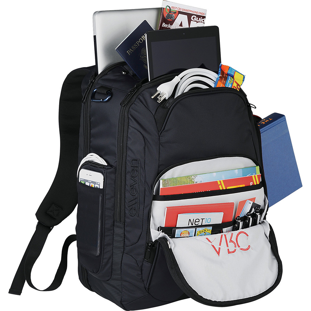 Promotional Product Elleven Rutter TSA 17'''' Computer Backpack