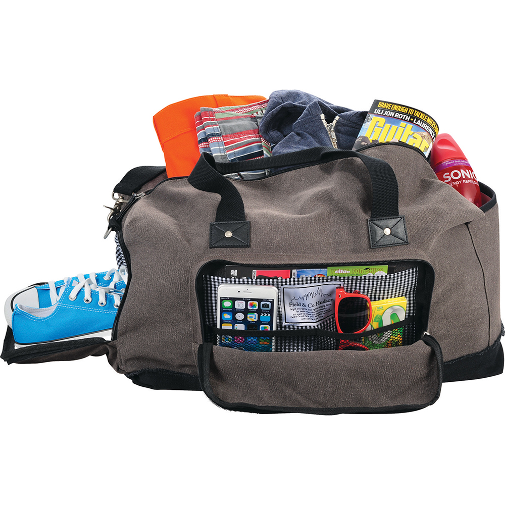 Promotional Product Field & Co Hudson 21'''' Weekender Duffel Bag