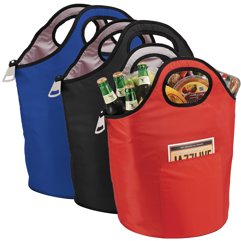 Promotional Product Party Cooler - Double Handle