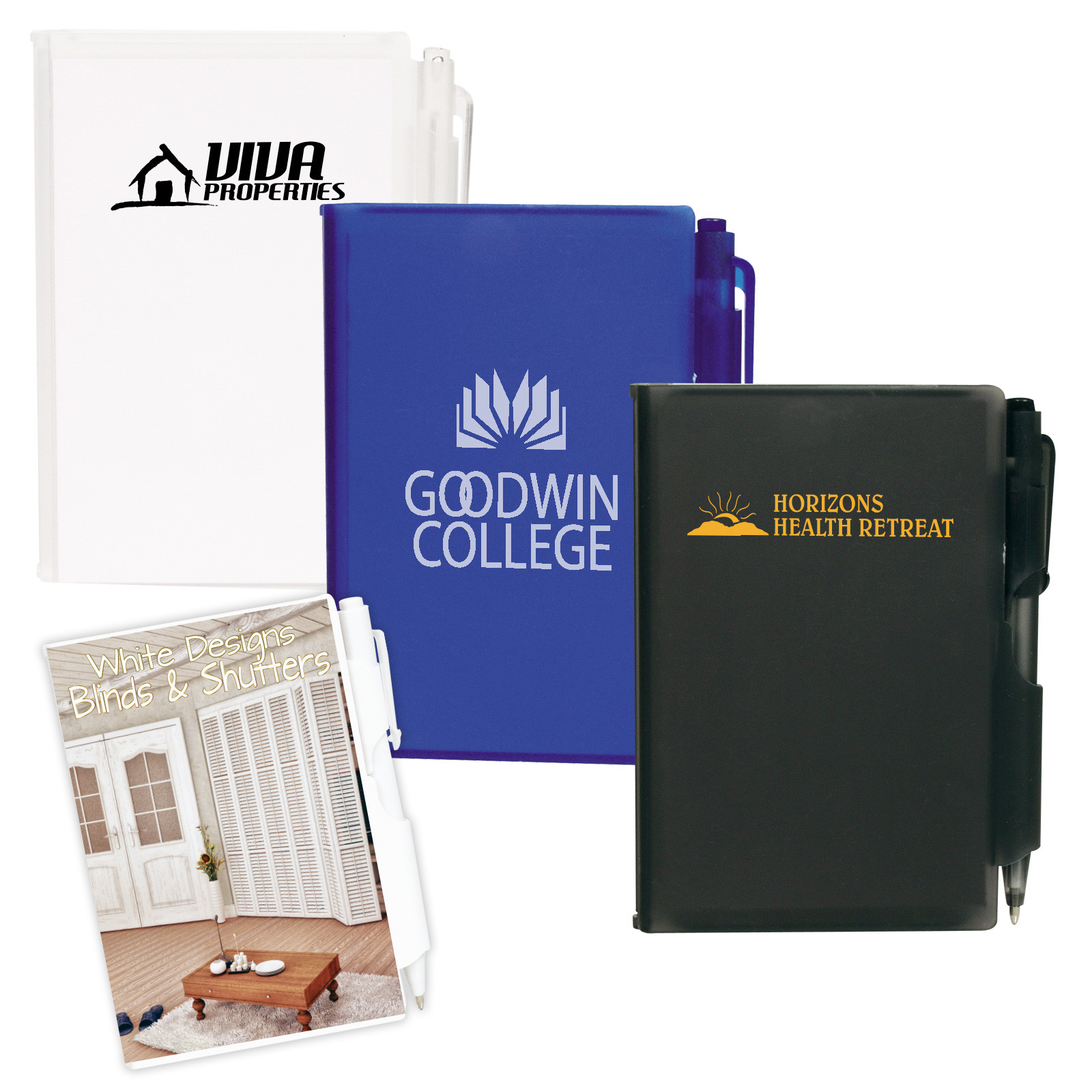 Promotional Product POCKET NOTEBOOK WITH PEN