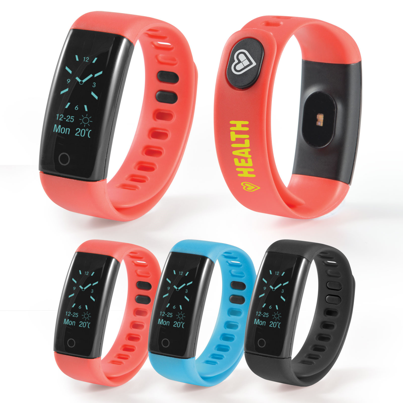 Promotional Product PowerFit Fitness Band with Blood Pressure Monitor