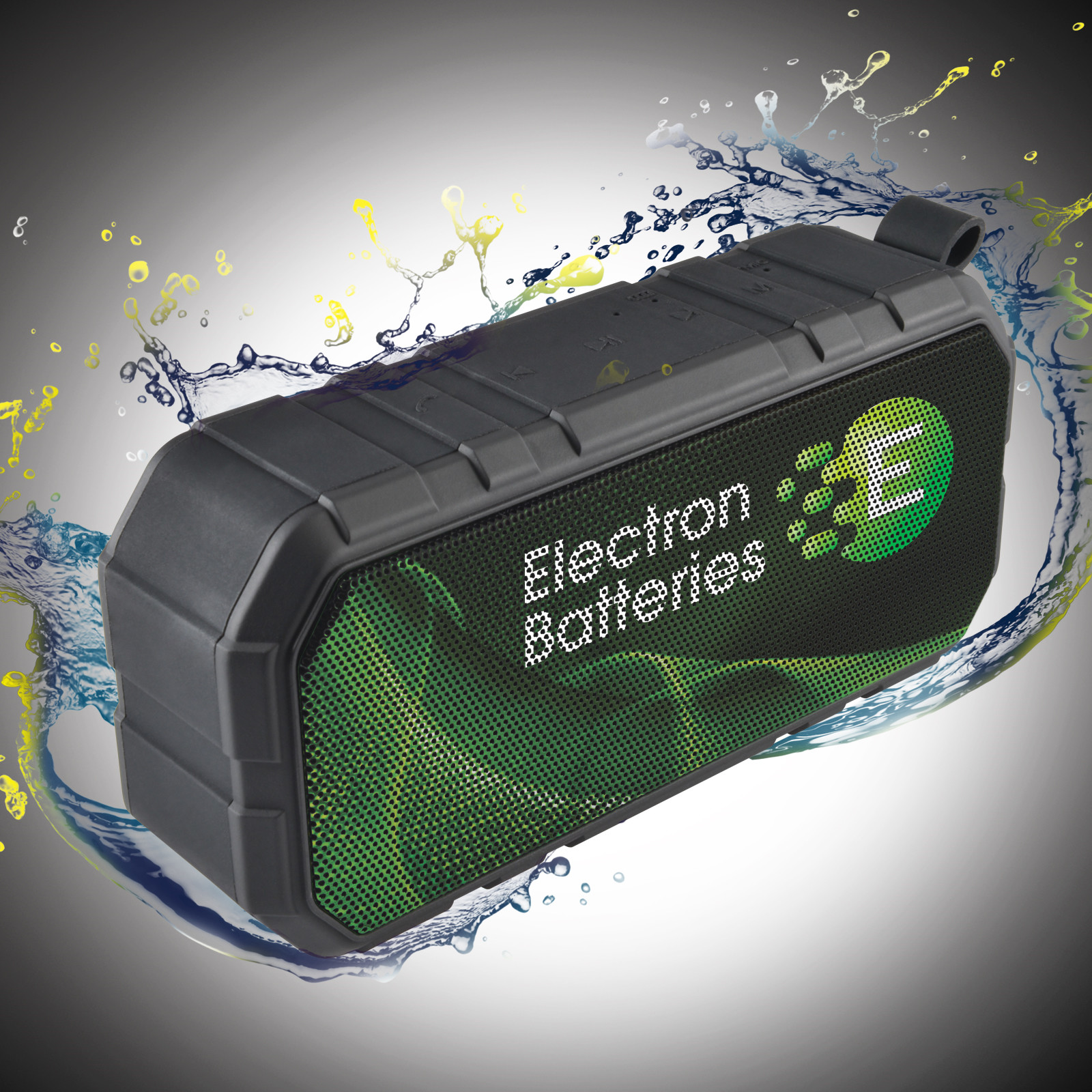 Promotional Product Escape Water Resistant Bluetooth Speaker