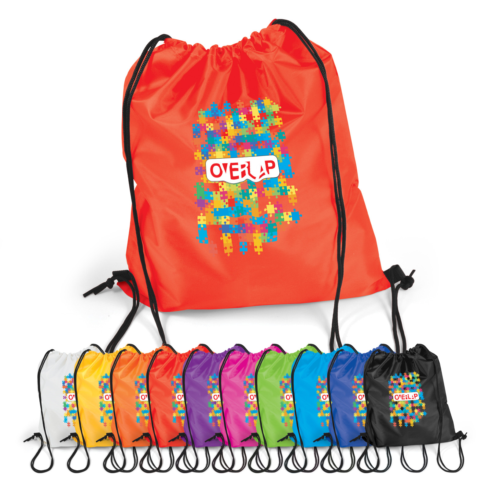 Promotional Product Pronto Drawstring Backpack