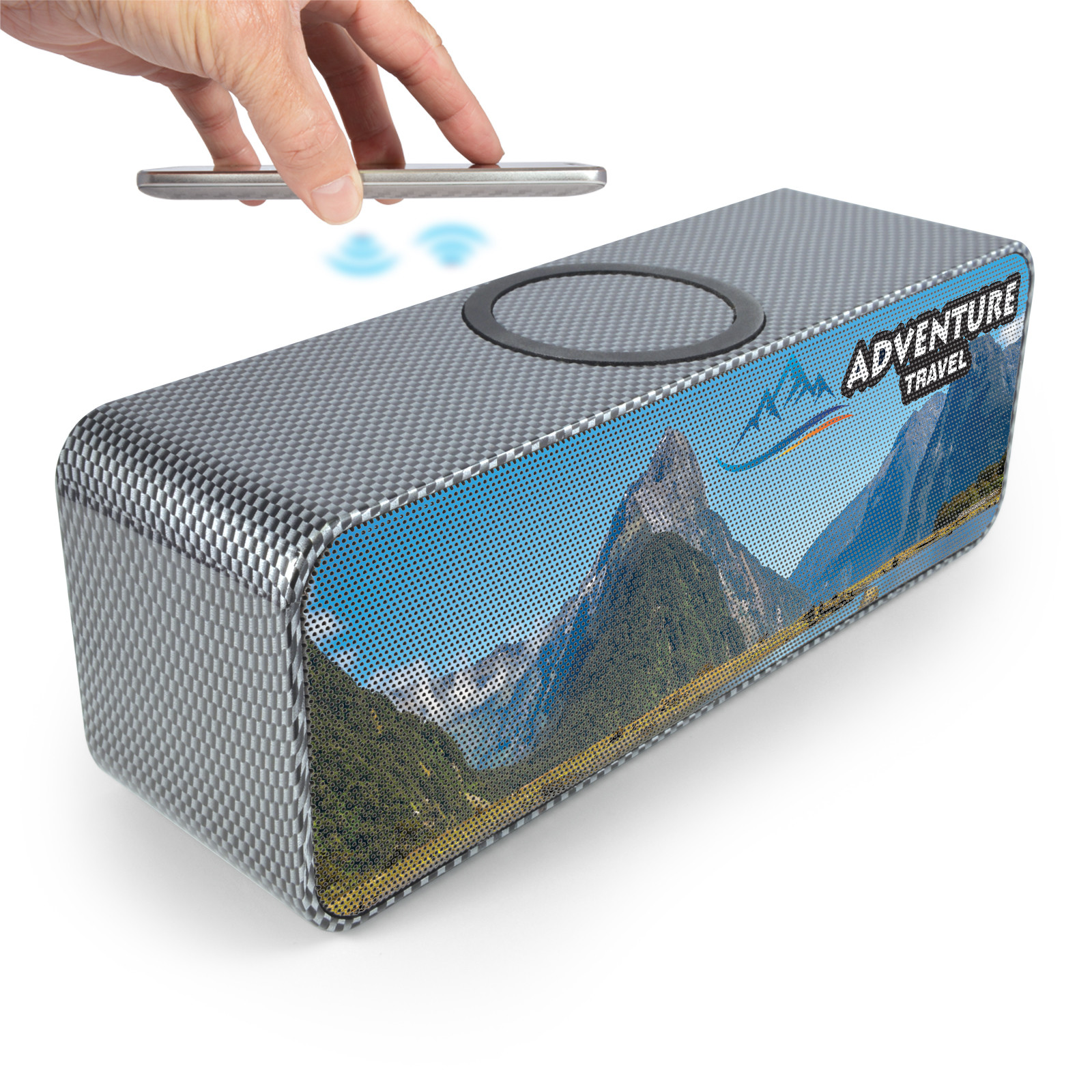 Promotional Product Shogun Speaker & Inductive Charger