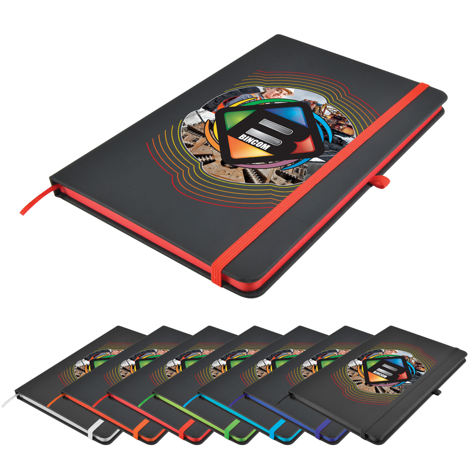 Promotional Product Venture Supreme A5 Notebook
