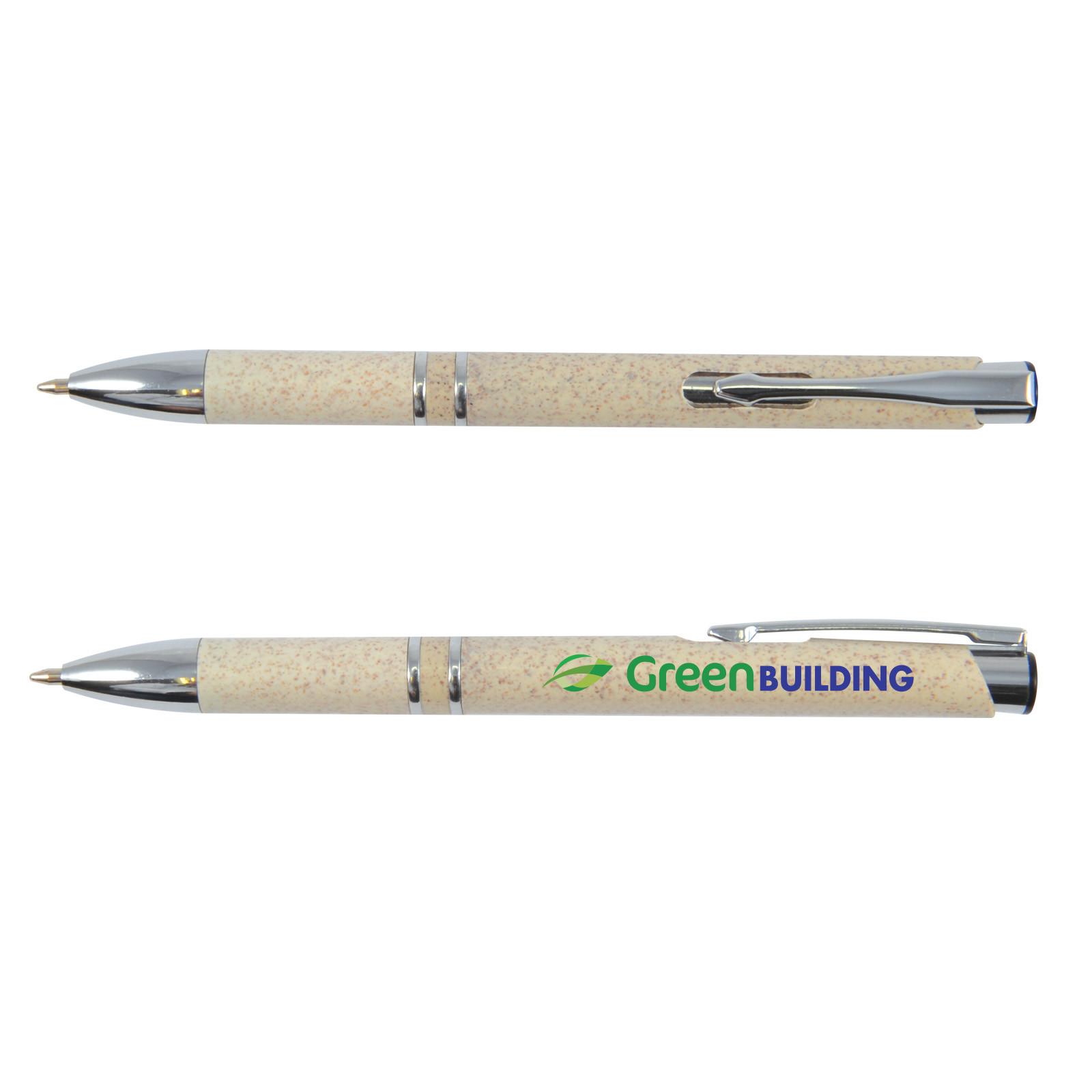 Promotional Product Napier Wheat Fibre Eco Pen