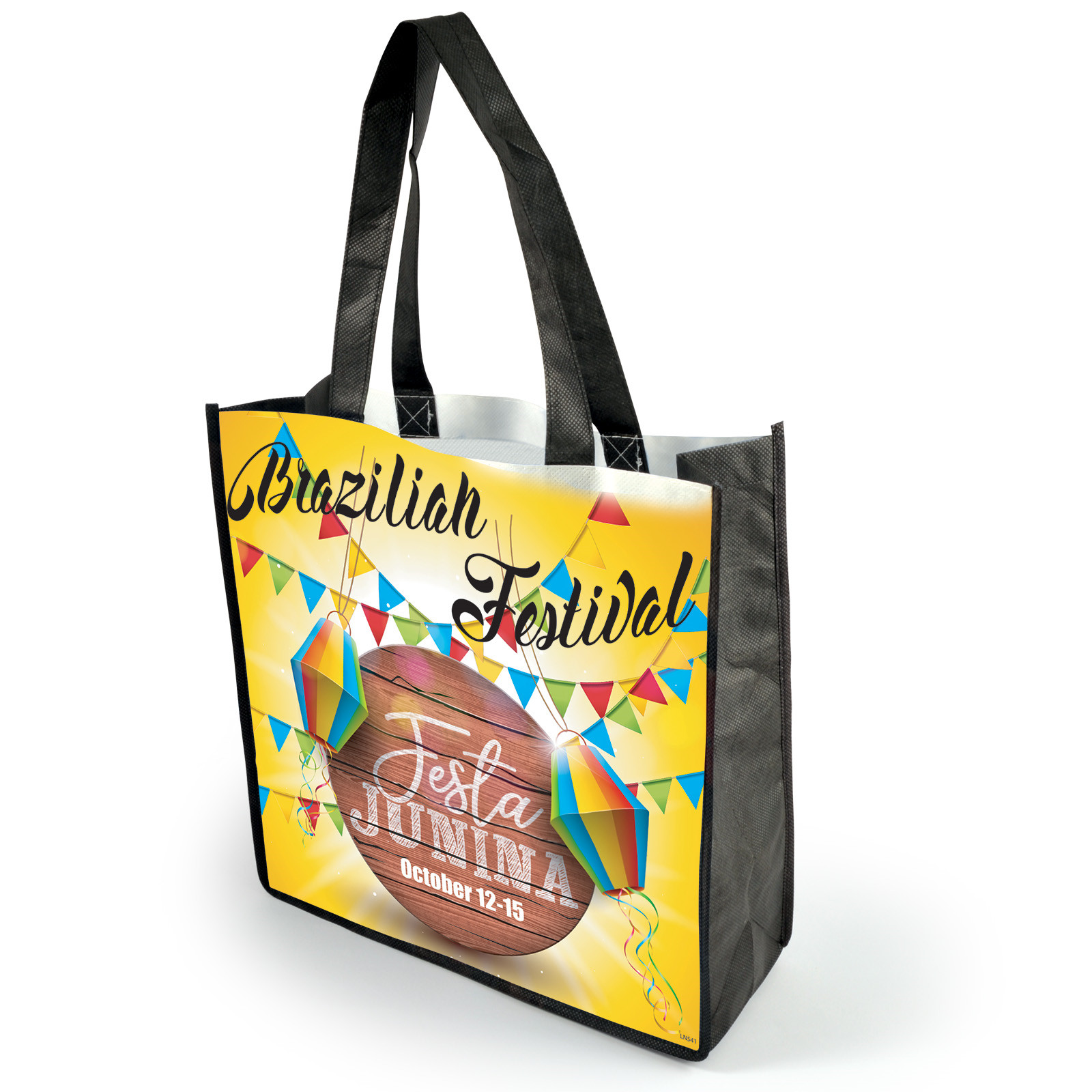 Promotional Product Boston Non Woven Bag - full colour printed