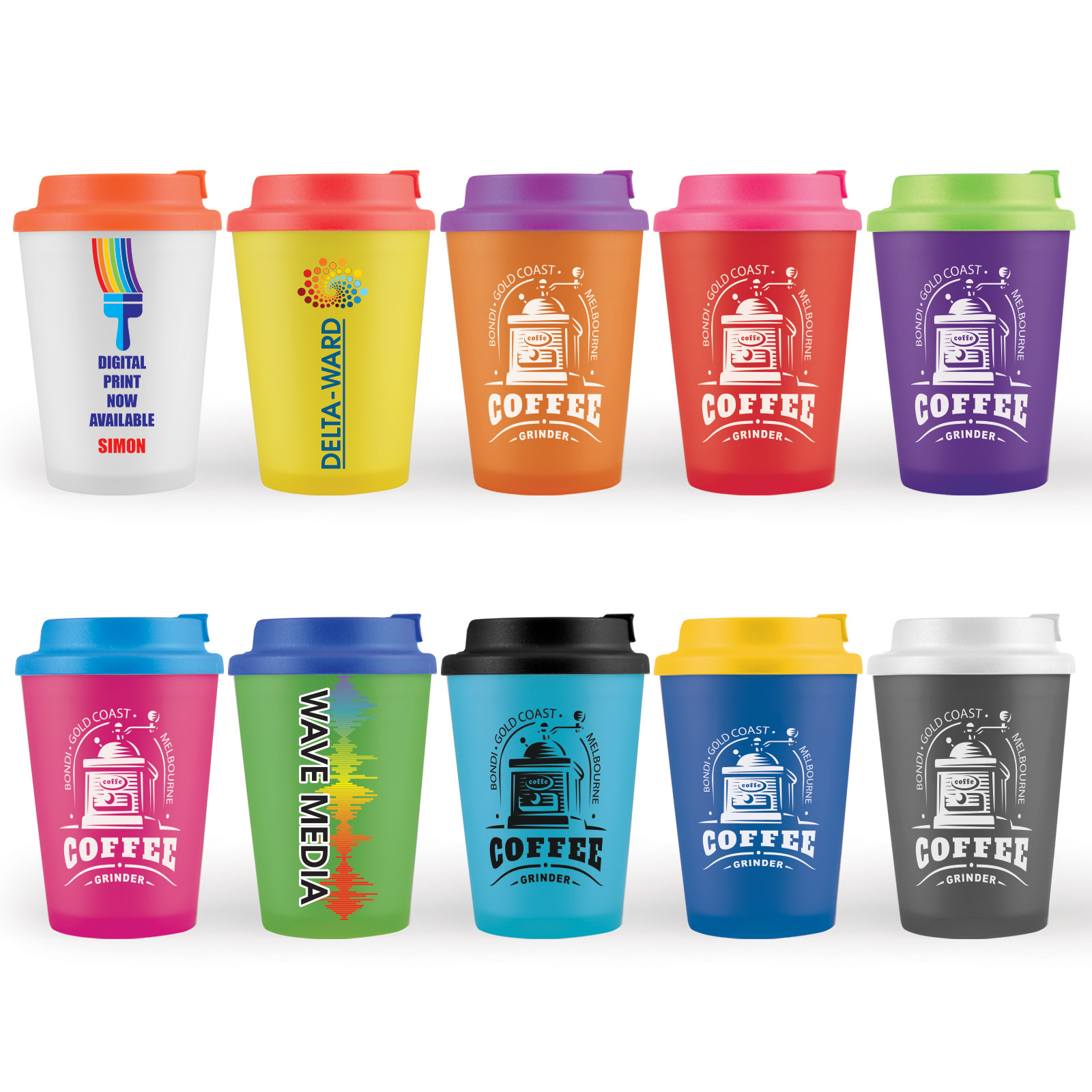 Promotional Product Aroma Coffee Cup / Comfort Lid