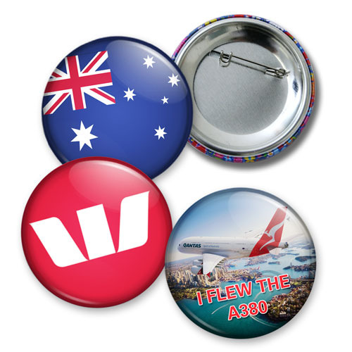 Promotional Product Button Badge - 75mm
