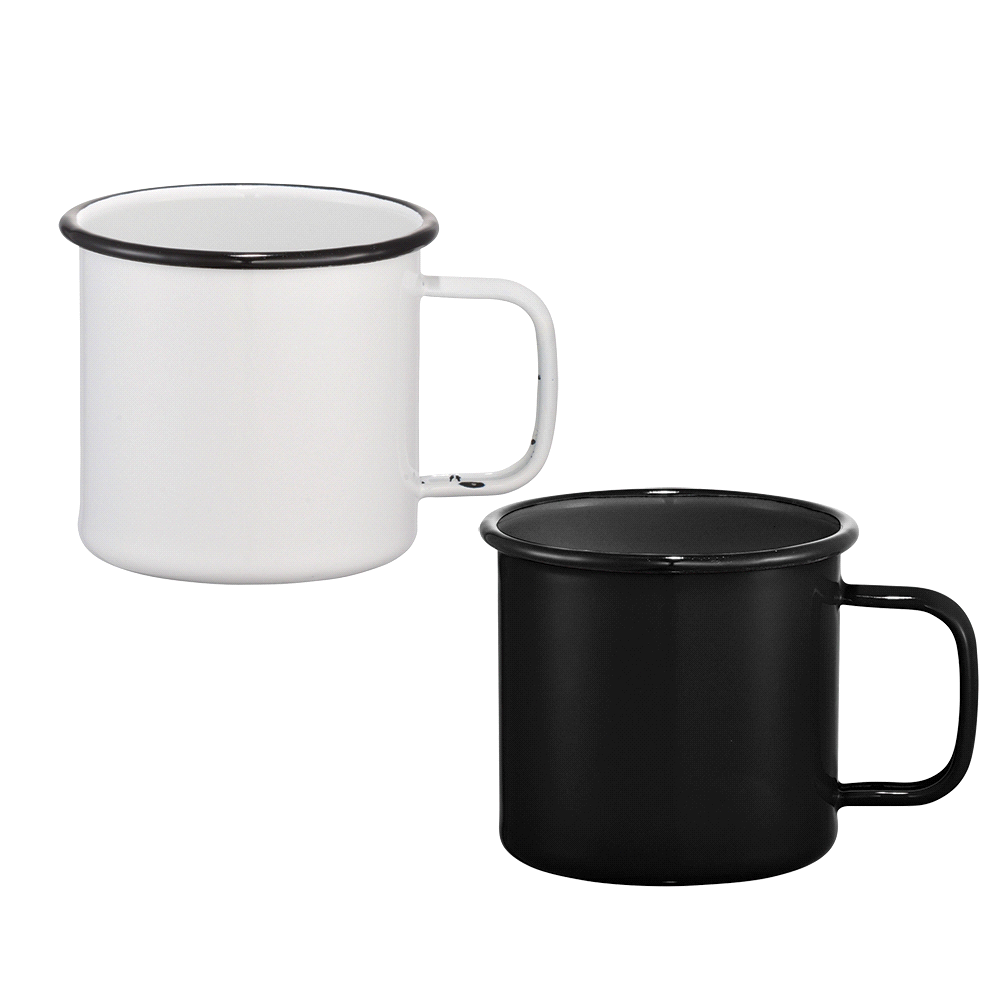 Promotional Product Enamel Metal Mug