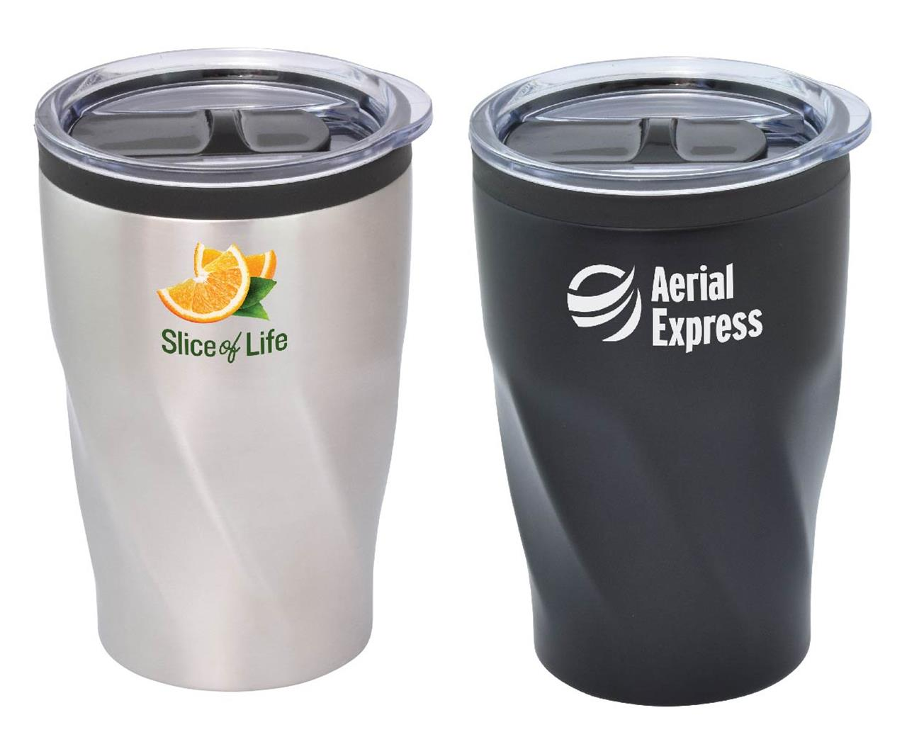Promotional Product Cyclone Double Wall Mug