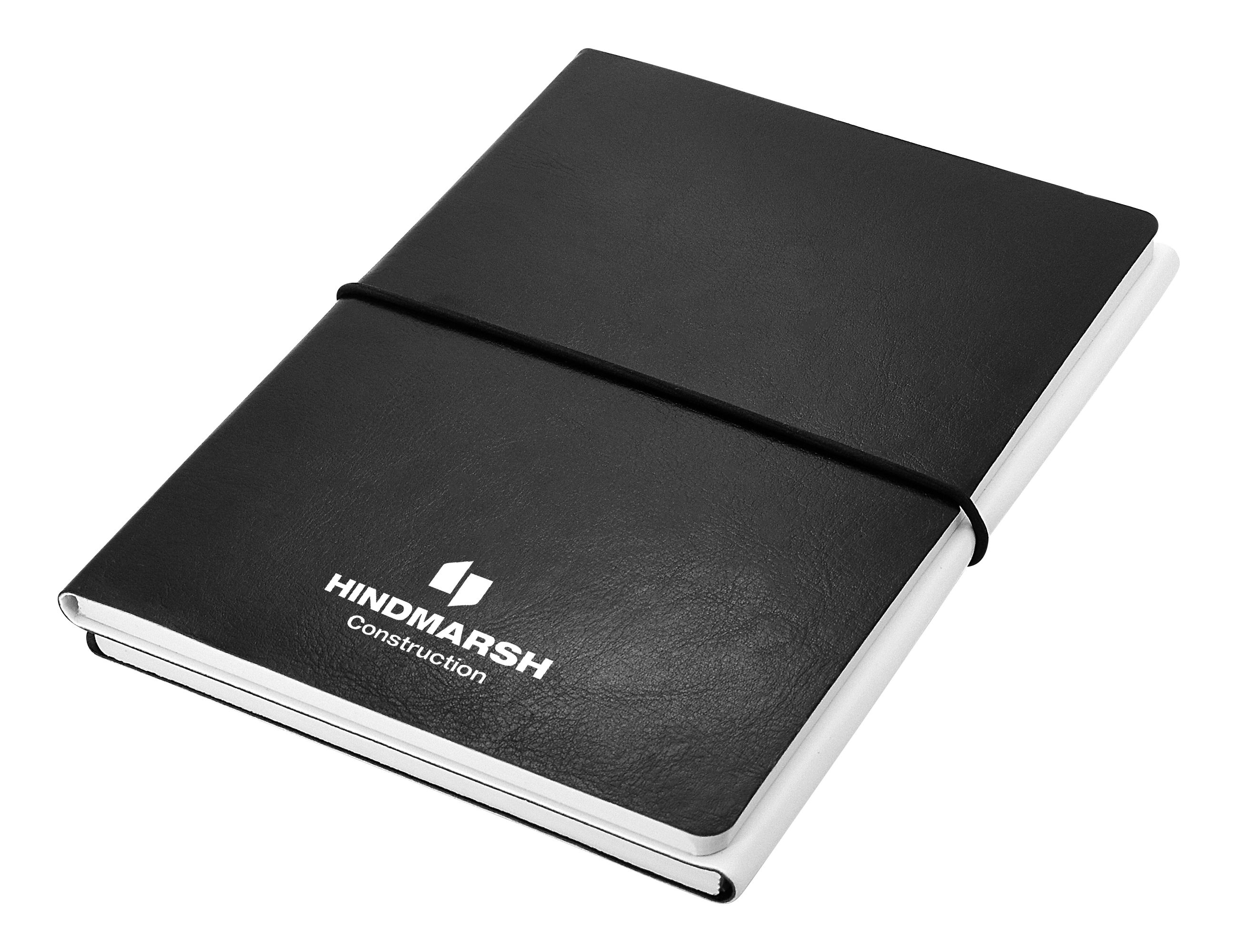 Promotional Product Two to Tango A5 Notebook, Black/White