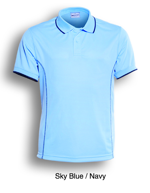 Promotional Product Mens Sky/Navy Polo Shirt
