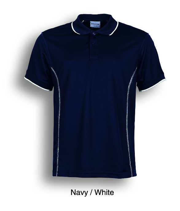 Promotional Product Mens Navy/White Polo Shirt