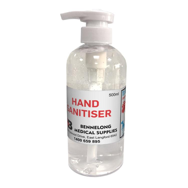 Promotional Product Hand Sanitiser Antibacterial Gel - 500ml