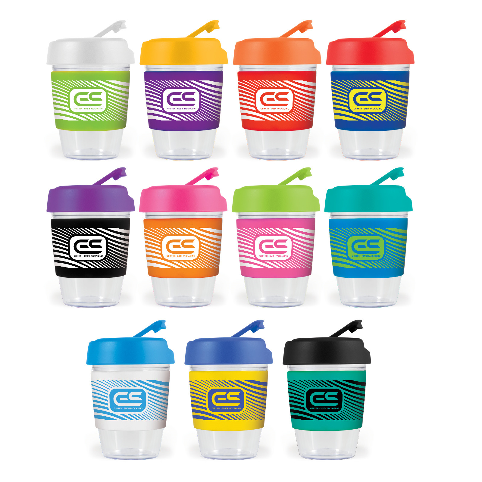 Promotional Product Kick Cup Crystal / Silicone Band