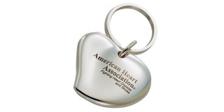 Promotional Product The Cuore Key Chain