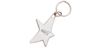 Promotional Product The Silver Stella Key Chain