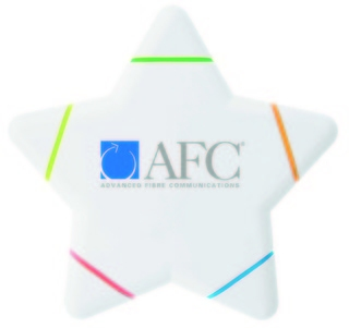 Promotional Product Star Shaped Highlighter