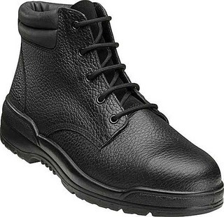 Promotional Product Lace up Safety Boots in Black Rambler