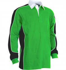 Promotional Product Adults 100% Combed cotton rugby knit rugby