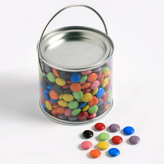 Promotional Product PVC Bucket filled choc beans