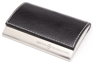 Promotional Product Accent Card Holder