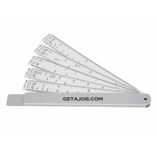 Promotional Product Measure-Mate Scale Rule